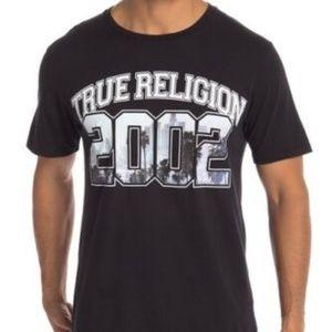 cb63fc157cffd ... 2002 LA City Scene True Religion T-Shirt Black L NWT  95 ...